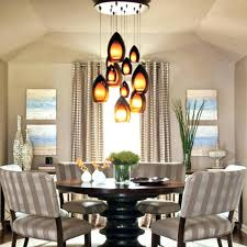 dining room light height kitchen table