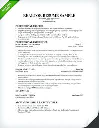 Real Estate Assistant Resume Real Estate Resume Sample Real Estate