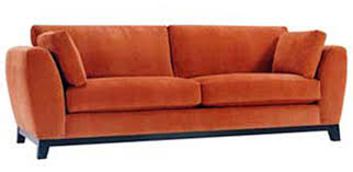 black modern couches. Couch, Modern Couches Deep Rectangular Pillow Orange Legs Black Box: Outstanding