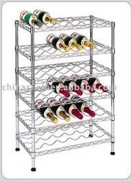wire wine rack. Chrome Wire Wine Rack A