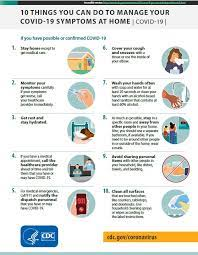what to do if you are sick cdc
