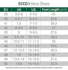 Ecco Shoe Chart Ecco Street Retro Golf Shoes Black