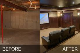 basement remodels before and after. Steve Elaine S Basement Before After Pictures Home Remodels And 7