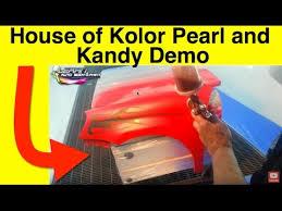 House Of Kolor Pearl Kandy Clear Coat Demo Jon Kosmoski Tony Bandalos