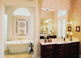 image of country bathroom wall decor design ideas