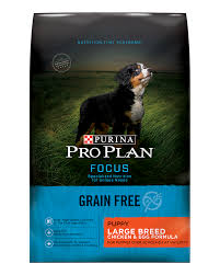 Purina Pro Plan Puppy Large Breed Feeding Chart Purina Pro Plan Focus Grain Free Puppy Large Breed Chicken Egg Formula Dry Dog Food