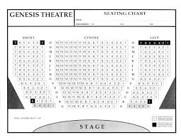 Mccurdy Pavilion Seating Chart Genesis Theatre Seating Chart Footloose The Musical Delta
