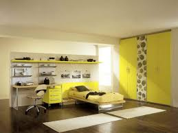 yellow bedroom furniture. Incredible Yellow Bedroom Paint With Dark Wooden Floor And White Wall Furniture I