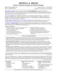 Agile Project Manager Resume Software Project Manager Resume