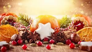 Der Geschmack und der Duft von Weihnachten