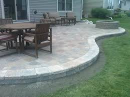 Perfect Paver Patio Diy On Furniture Design Ideas With High