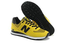 new balance yellow. men choose perfect new balance 574 yellow black sports shoes ns2dlmce release