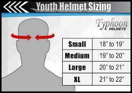 Bike Helmet Size Chart Youth Large Atv Helmet Bicycling Magazine