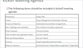 Format For Presentation Of Project A Project Kickoff Meeting Presentation Template Weekly Image Result