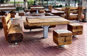 stylish rustic wood outdoor furniture patio that lasts rustic wood patio furniture s71 patio