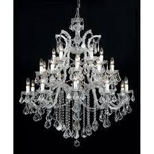 crystorama maria theresa 4470 26 light chandelier clear swarovski strass crystal 4470 ch
