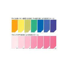 Ph Color Chart Ph Color Chart Enagic Store Thailand