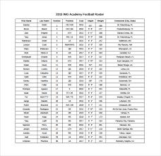 Blank Youth Football Depth Chart 27 Images Of Football Player Lineup Template Somaek Com