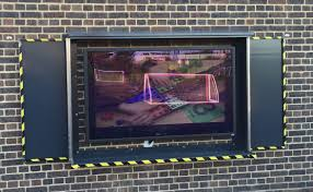 outdoor tv security enclosure outdoor tv enclosure
