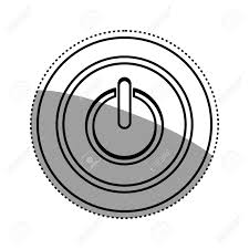 On off switch power icon vector illustration graphic design royalty