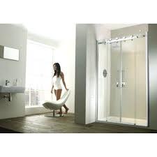 aquaglass shower 2 door recess sliding shower aqua glass shower door bottom seal