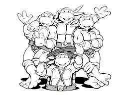 Small Picture Best Ninja Turtles Coloring Pages To Print Photos Printable