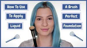 how to use a brush to apply perfect