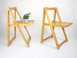 folding chairs wood dining. wooden folding chairs, pair / mid century chairs dining made in yugoslavia wood