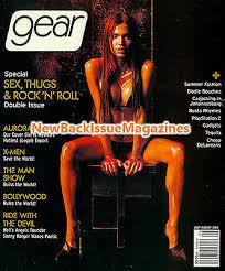 Gear 8/00,Aurora Robles,X-Men,Busta Rhymes,August 2000,NEW | eBay