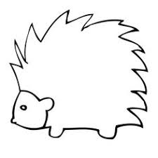 Small Picture North American Porcupine Coloring page Color Animals