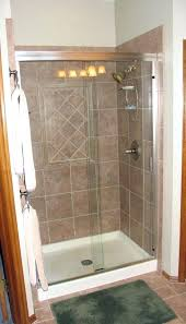 5 mm glass free standing shower stall rectangular fully enclosed