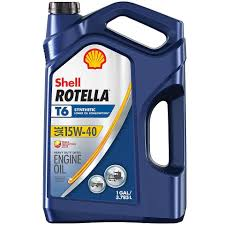 Shell Rotella T6 15w 40 Full Synthetic Motor Oil Shell