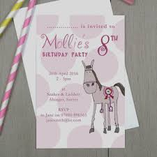 moo invitations amazing of pony party invitations personalised children s by molly