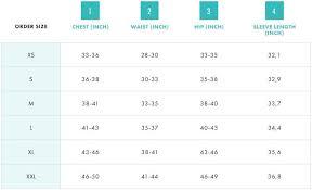 Salomon Size Charts Sail And Ski Ltd