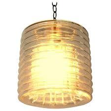 modern italian glass pendant lamp or chandelier