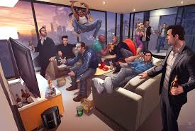 grand theft auto images gta family hd wallpaper and background photos