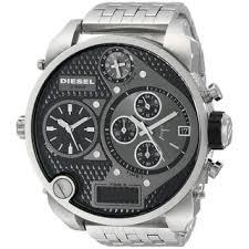 diesel men s watches shop the best deals for 2017 diesel men s dz7221 mr daddy silver stainless steel watch