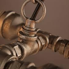 Us 6988 50 Offrost 4 Kopf Wasser Rohr Steampunk Vintage Pendelleuchten Esszimmer Bar Home Decoration Amerikanischen Industrie Loft