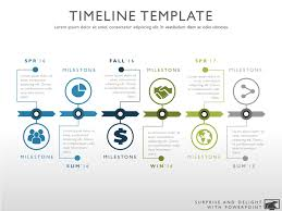 timrline six phase creative timeline graphic