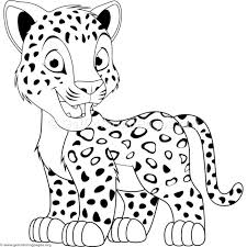Cartoon Leopard Coloring Pages 2018 Open Coloring Pages