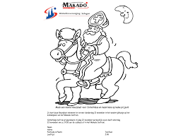 Download Sinterklaas Kleurplaat Makado Centrum Schagen