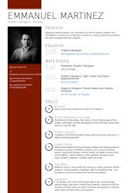 freelance graphic designer Resume Example