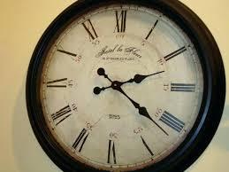 interior clocks large vintage wall clock oversized rustic limited decorative 5 retro l
