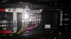 pictures of the under seat fuses ford transit usa forum notice that there are two main fuse panels plus the lonely 60 amp fuse for the customer access port on the side of the seat