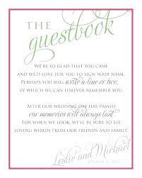 Birthday Guest Book Template Guest Sign In Book Template Guestbook Wedding Free Printable