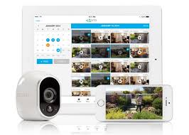 Wireless Home Security Camera Netgear Arlo HD Smart System Unveiled