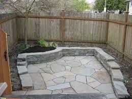 flagstone patio designs. flagstone patio with retaining wall designs