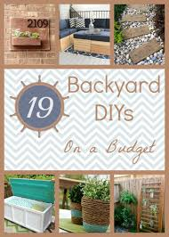 Diy Backyard Projects Diy Backyard Projects On A Budget Outdoor Furniture Design And Ideas
