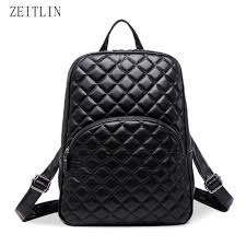 Buy leather quilted backpack and get free shipping on AliExpress.com &  Adamdwight.com