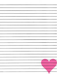 ruled paper template paper lined paper template instant download free letter